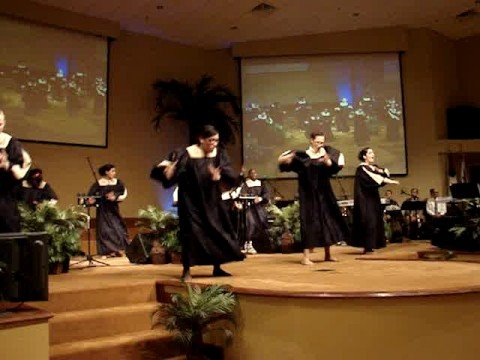 """The Pentecostals of Cooper City Youth Sign Team """"Waging War"""""""