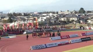 福島ユナイテッドFC対藤枝MYFC 勝利の報告 あいづ陸上競技場にて