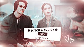 ❖ Mitch Rapp & Annika | Too late. [American Assassin]