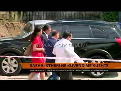 Basha: Kthimi në Kuvend, me kushte - Top Channel Albania - News - Lajme
