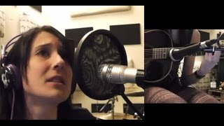 Disturbed - Stricken (acoustic cover by Sandra Szabo)