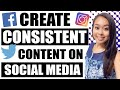 How to create consistent content on social media mp3