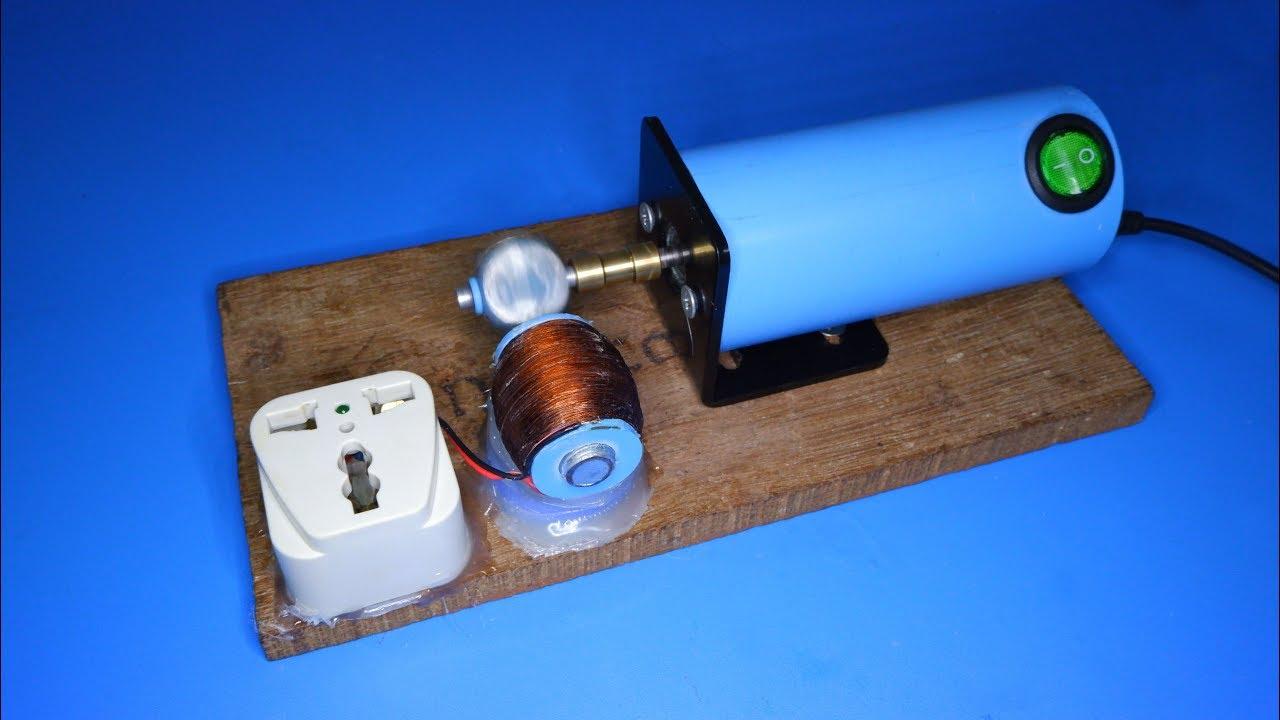 DIY 220V AC Generator from 3V DC