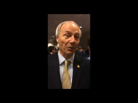 Gov. Asa Hutchinson Talks about Jobs for People with Disabilities in Arkansas