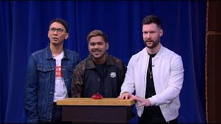 Grupnya Calum Scott Cuma Bisa Bengong Dengerin Clue dari Miss Google