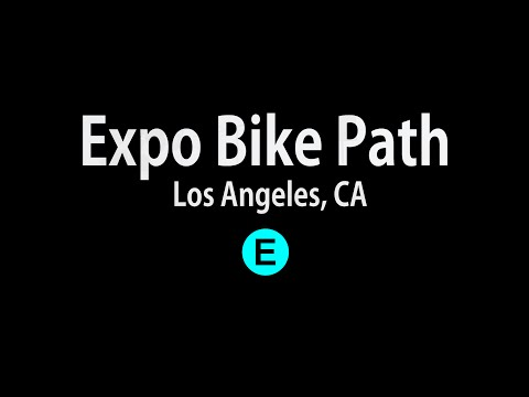 The Expo Bike Path - Los Angeles, CA