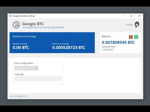 How To Activate Google BTC Miner 2020