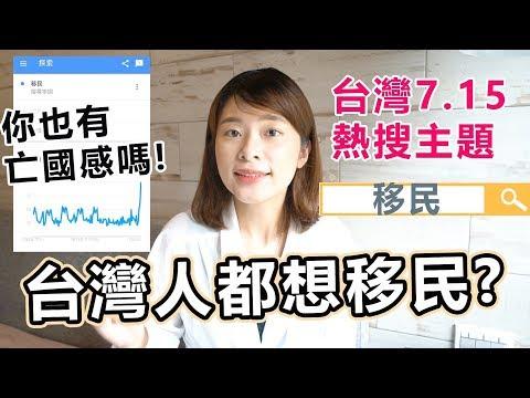 台灣人這天都想移民,是因為他?你也有亡國感嗎Ft. 艾弟加拿大留學日常