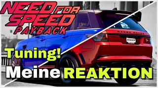 Need for Speed Payback - Range Rover SVR Tuning geleaked + ANSAGE