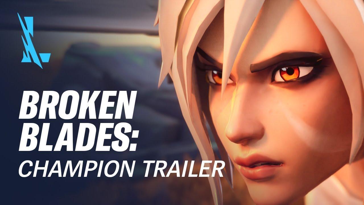 Broken Blades | Champion Trailer - League of Legends: Wild Rift