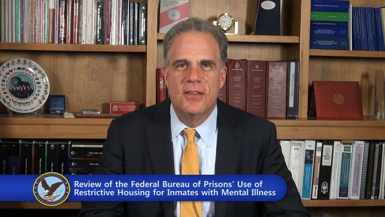 DOJ Report Criticizes Prisons' Treatment of Mentally Ill