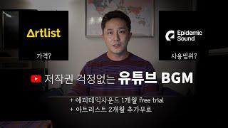 유료로 사용하는 유튜브 BGM (브금 추천)  | 아트…