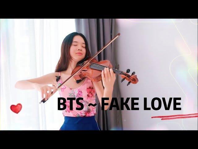 BTS (방탄소년단) 'FAKE LOVE' Violin [SHEET MUSIC AVAILABLE]