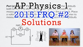 2 free response question ap physics 1 2015 exam solutions