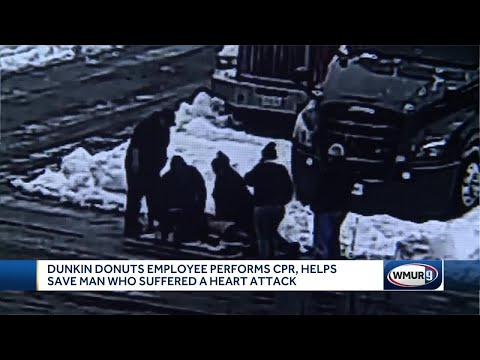 V Mornings - Dunkin' Employee Saves Man's Life At Rest Stop #GoodNews