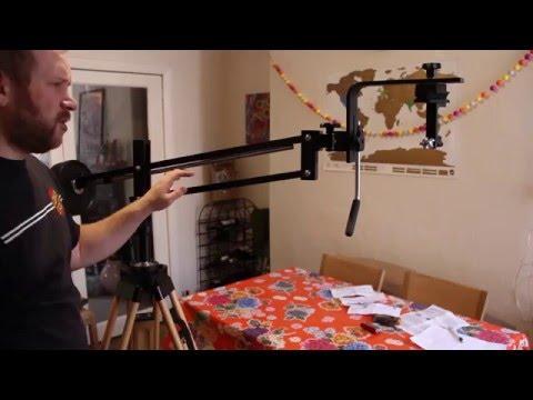 Universal Astronomics Unimount parallelogram mount for binoculars and Oberwerk Tall Tripod Review