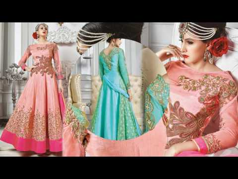 image of Anarkali suits youtube video 3
