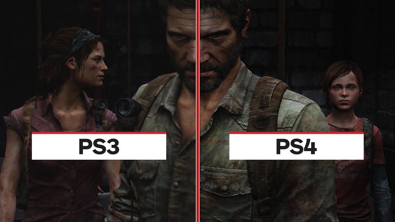The Last Of Us Ps4 Vs Ps3 Graphic Comparison Youtube