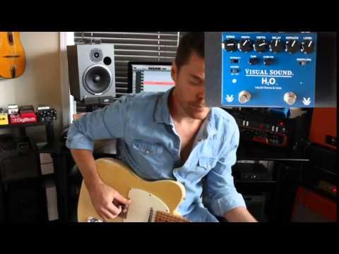 Visual Sound V3 H20 Liquid Chorus And Echo Demo By Shawn Tubbs