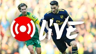 Norwich City 2 2 Arsenal | Arsenal Nation Live Analysis
