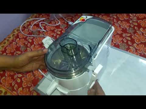 Sujata Powermatic Plus 900W Juicer Mixer Grinder - UNBOXING & DEMO