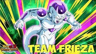 Best Final Form Frieza! Full Frieza Team Showcase vs FP SSJ4 Goku: DBZ Dokkan Battle