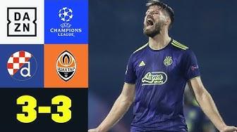 90+8! Irre Endphase in Zagreb: Dinamo Zagreb - Schachtjor Donezk 3:3 | UEFA Champions League | DAZN