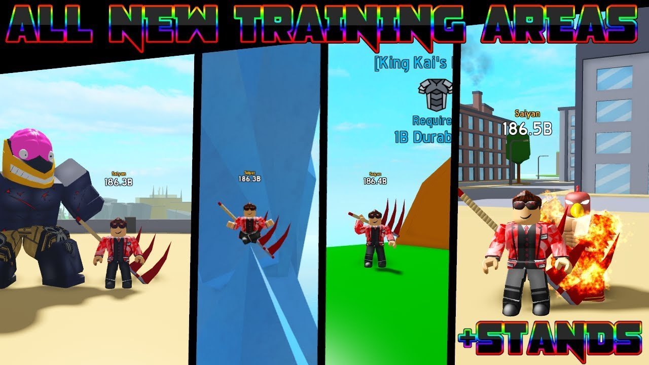 ALL NEW Training Areas in Anime Fighting Simulator!! +New ...