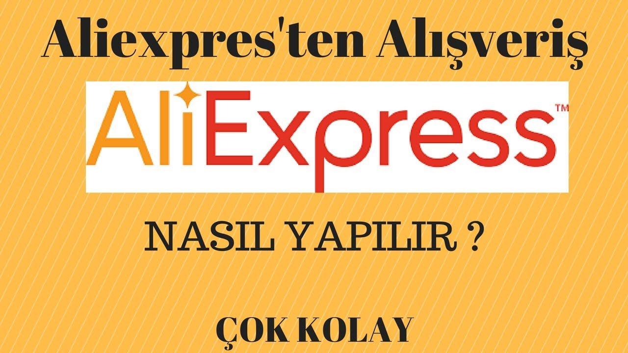 AliExpressten nasıl kolay alışveriş yapılır