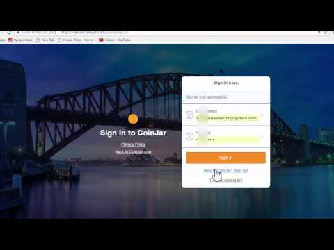 How To Buy Bitcoins Using CoinJar From Your Australian Bank Account