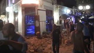 قتيلان وعدة إصابات في زلزال يضرب سواحل اليونان وتركيا قبالة بحر إيجة