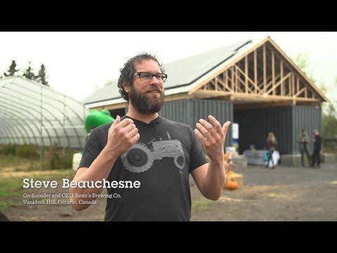 Beau's, Bullfrog Power launch new solar project at Ottawa's Just Food Farm