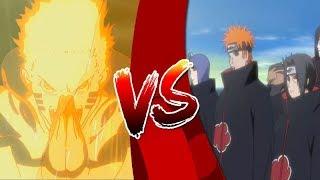 Naruto VS Akatsuki | ¿Quién ganaría? | UchiHax thumbnail