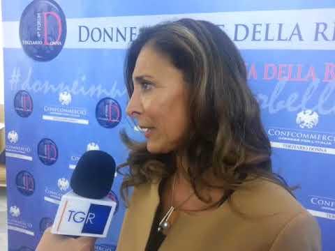"""Forum Terziario Donna Confcommercio, Di Dio: """"La ripresa passa anche delle imprese al femminile"""""""