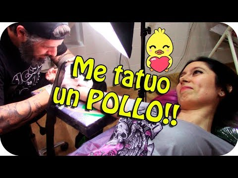 ME HAGO UN TATUAJE DE UN POLLO!!! - Especial 1 MILLÓN  de SUBS!!