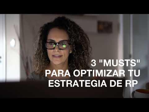 3  musts  para  optimizar estrategias de RP | InfoSol