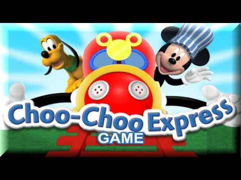 mickey mouse clubhouse mickeys choo choo train express mickey mouse game