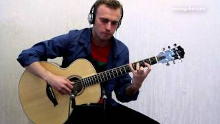 massive attack - teardrop ( guitar cover by Alexey Nosov )