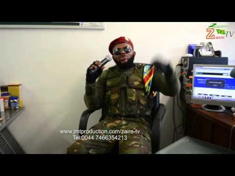 Zaire TV:Combattant RDC STALLONE Reagit contre les faux combattants de Londres