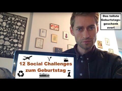 Social Challenges zum Geburtstag