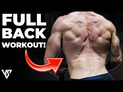 Full Back Workout Using Only Dumbbells (FORM EXPLAINED!)