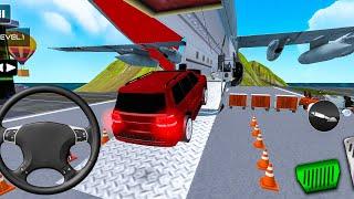 Airplane Car Parking Game: Prado Car Driving Games - Android Gameplay HD screenshot 2