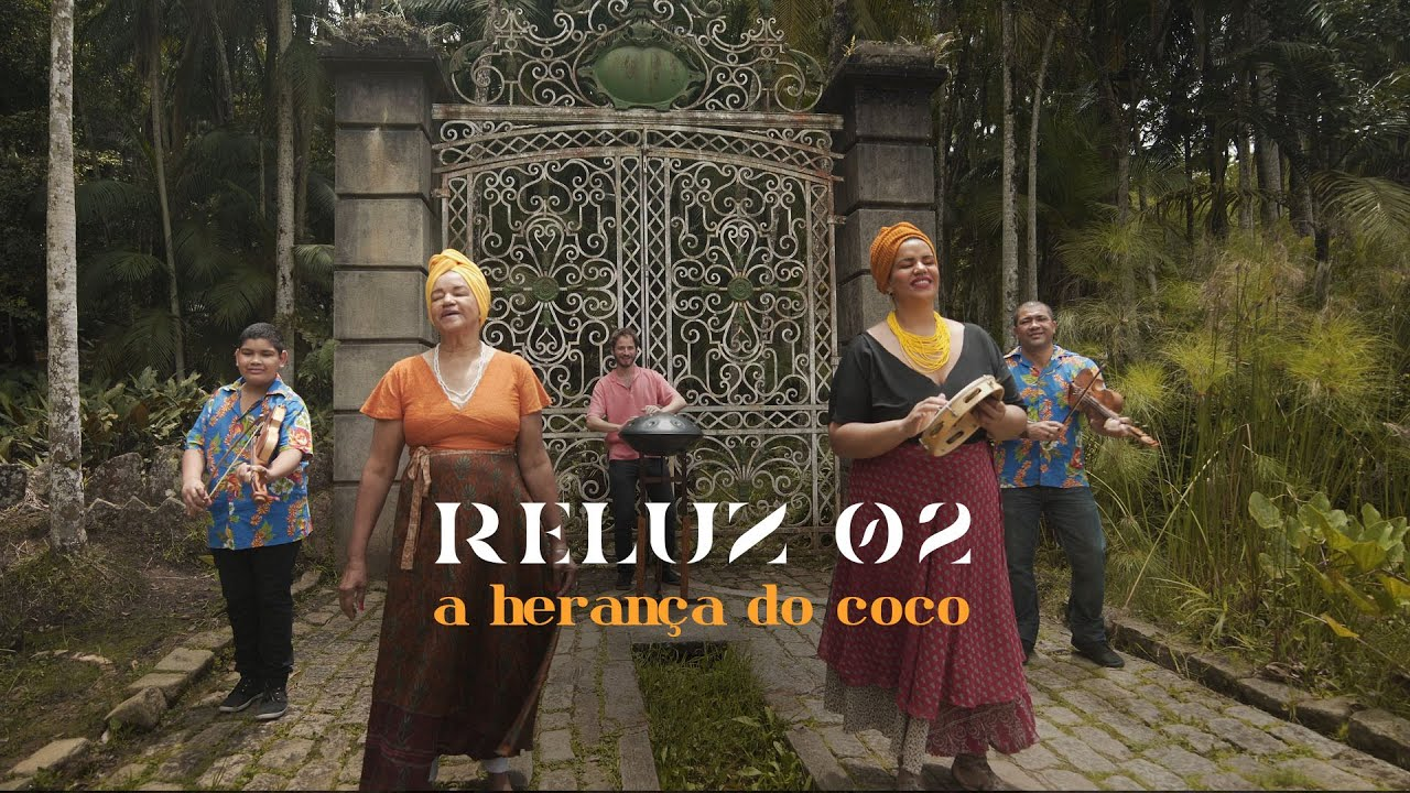 Está no ar o segundo clipe do Reluz, com Felipe Reznik e Aurinha do Coco