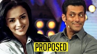 Hot amy jackson proposes salman khan publicly in front of media