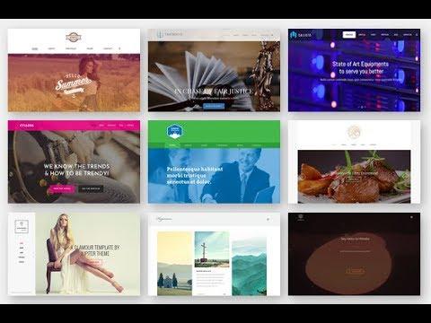 Plantillas de Wordpress Premium GRATIS, cursos gratis diseño web ...