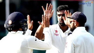 India vs New Zealand : Ravichandran Ashwin takes 6/81, NZ all out for 299 | वनइंडिया हिन्दी
