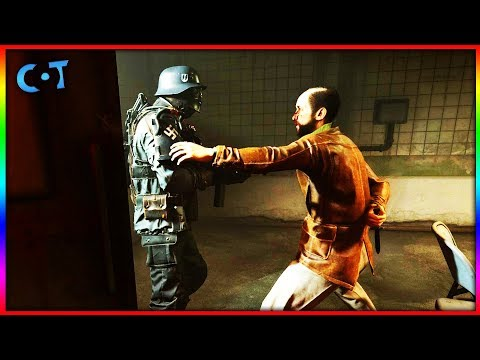 Breaking Out Of Nazi Prison - Wolfenstein 2: The New Colossus