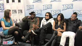 Black Eyed Peas Interview at SummerBash!
