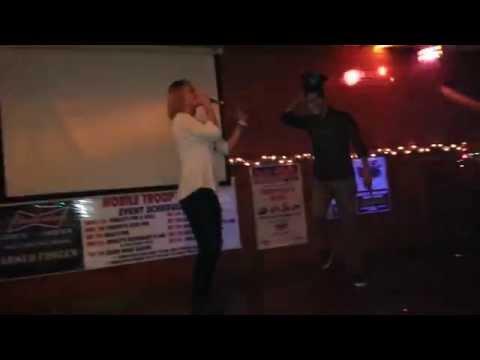 MIAMI   Randi & Ethan Hawkins  Karaoke 2014 Holidays