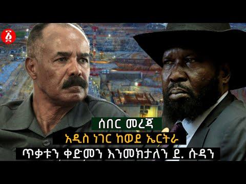 ጥቃቱን ቀድመን እንመክታለን - ደ. ሱዳን አዲስ ነገር ከወደ ኤርትራ | Ethiopia